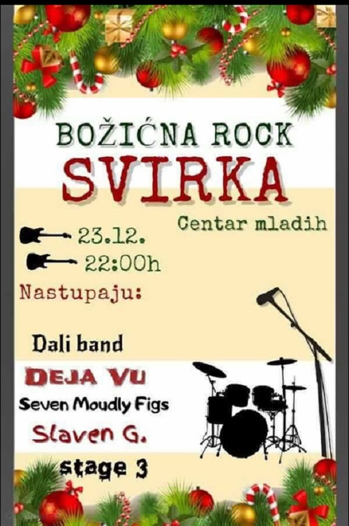 Rock Božić u Centru mladih
