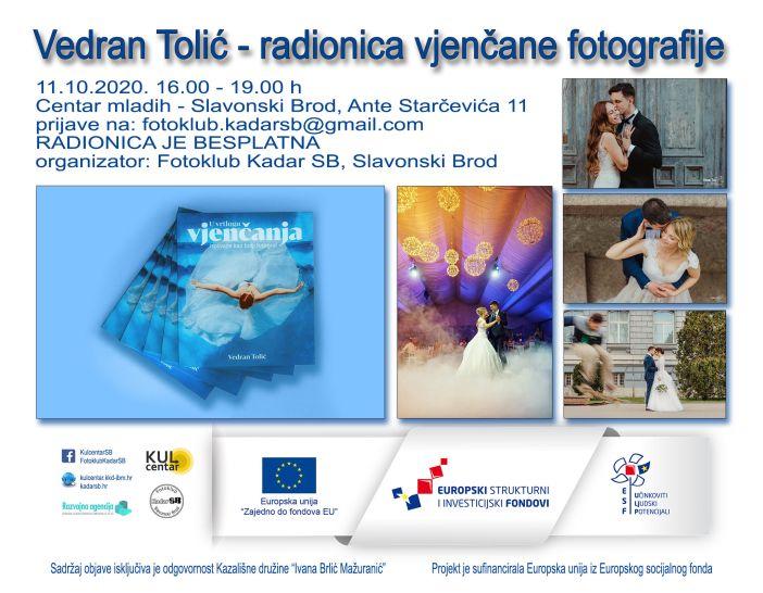 Vedran Tolić - radionica vjenčane fotografije