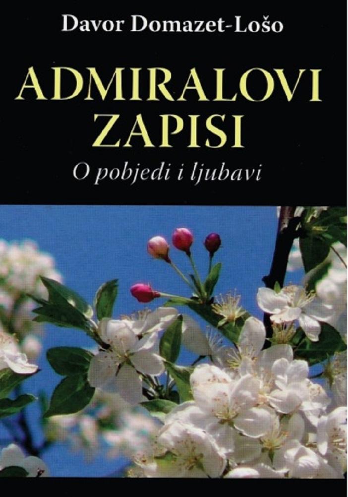 """Promocija knjige Davora Domazeta Loše """"Admiralovi zapisi"""""""