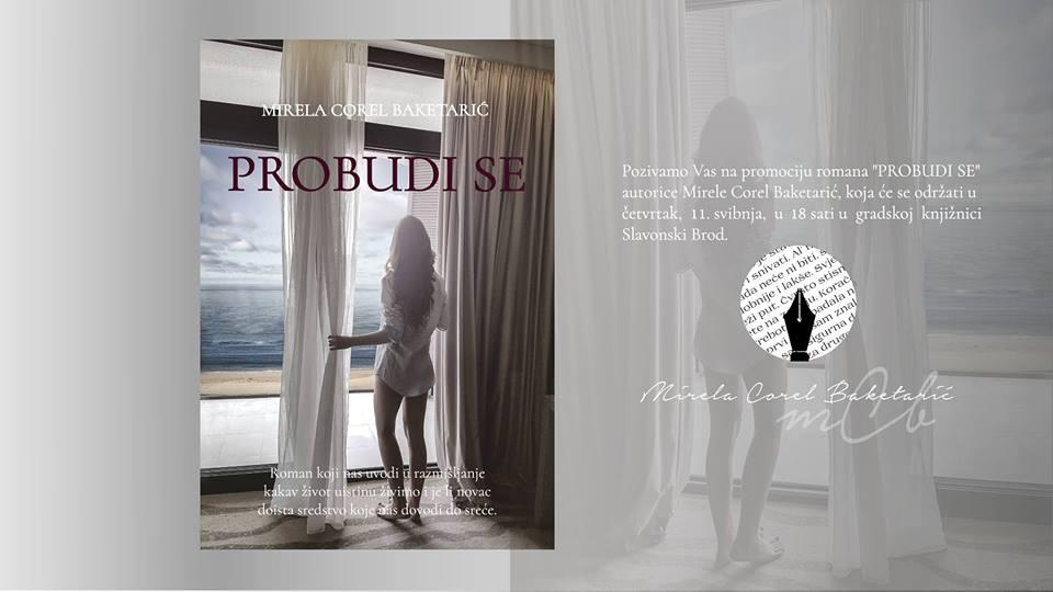 Promocija romana PROBUDI SE - prvijenac autorice Mirele Corel Baketarić