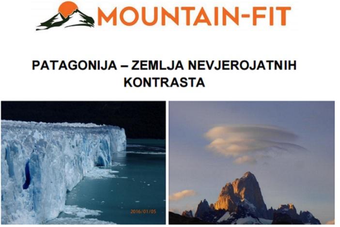 """Putopisna prezenatcija """"Patagonija - zemlja nevjerojatnih kontrasta"""""""