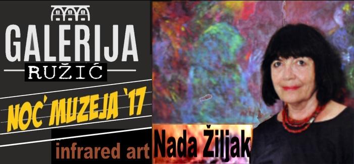 """Infrared art"" Nade Žiljak u Galeriji Ružić"