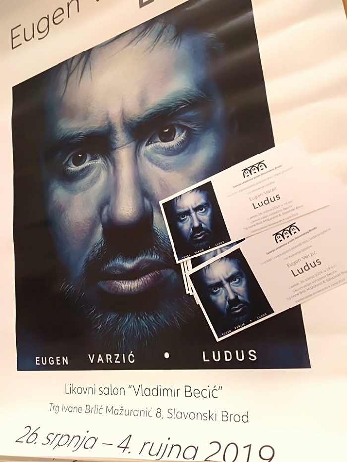 Otvorenje izložbe Eugena Varzića : Ludus