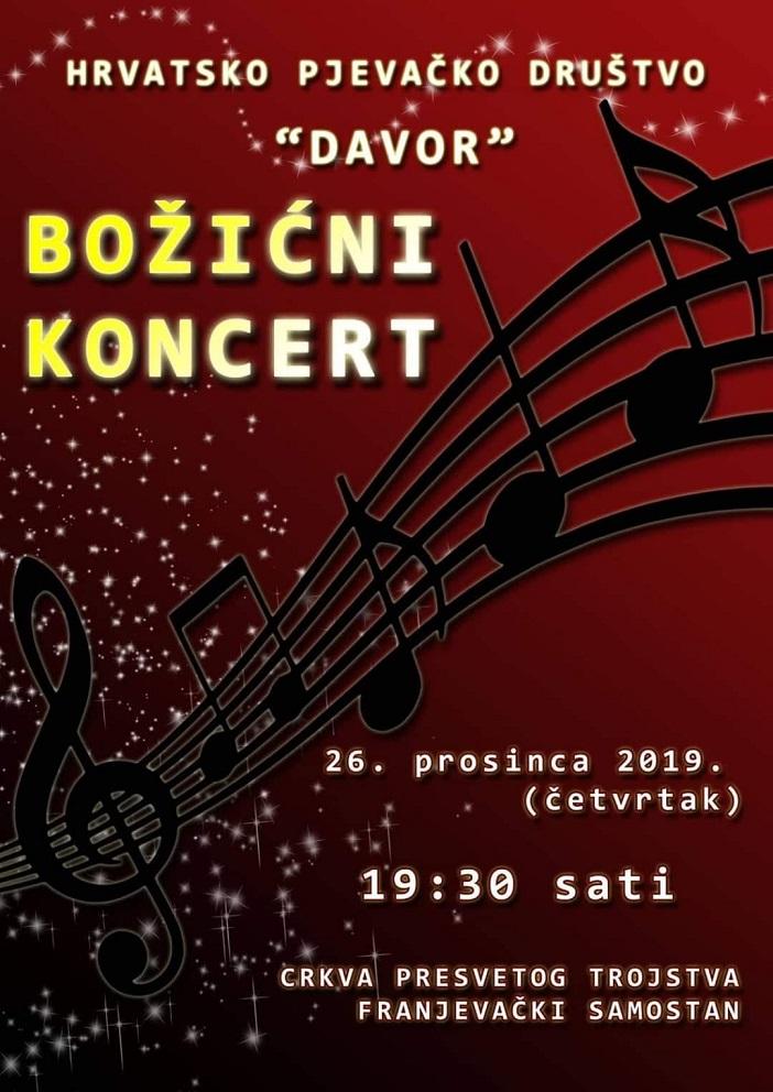 Božićni koncert HPD Davor