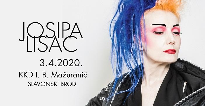 Koncert Josipe Lisac u Slavonskom Brodu
