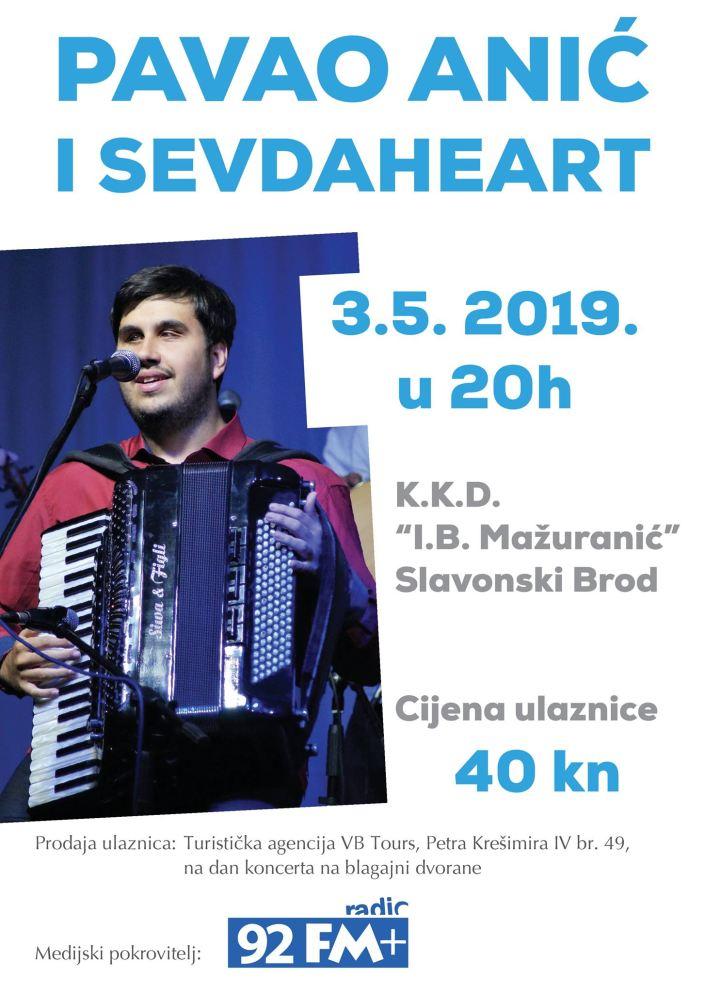 Koncert Pave Anića & Sevdaheart