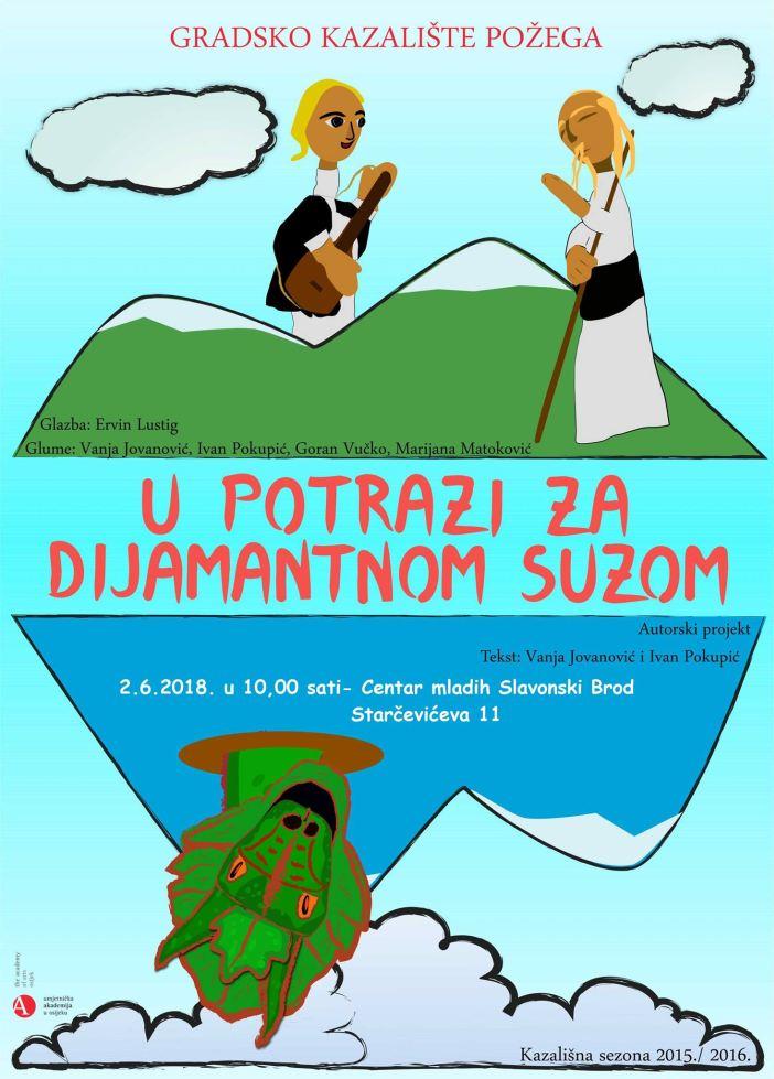 """5. MALIK Dani -Predstava """"U potrazi za dijamantnom suzom"""""""