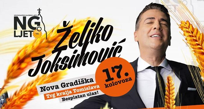 Željko Joksimović na Novogradiškom ljetu