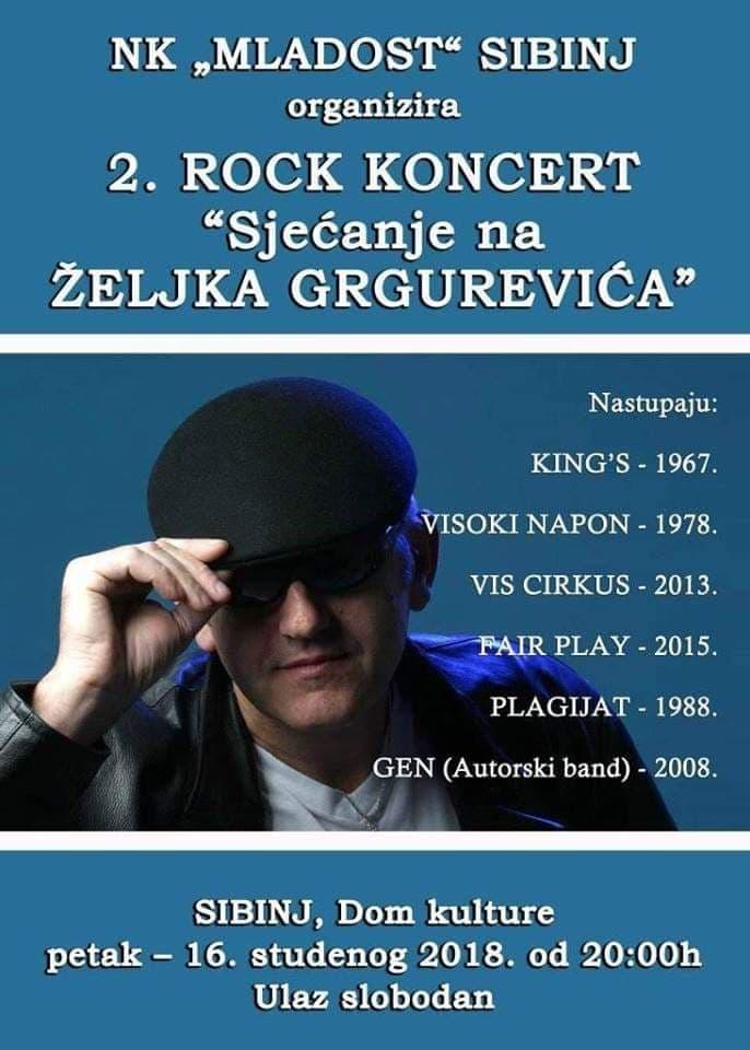 Sjećanje na Željka Grgurevića - 2. rock koncert