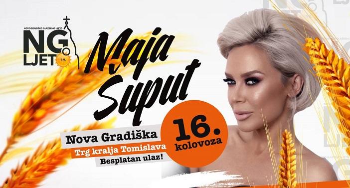 Maja Šuput na Novogradiškom ljetu
