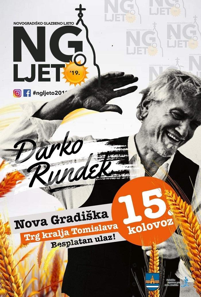 Darko Rundek & Ekipa na Novogradiškom ljetu
