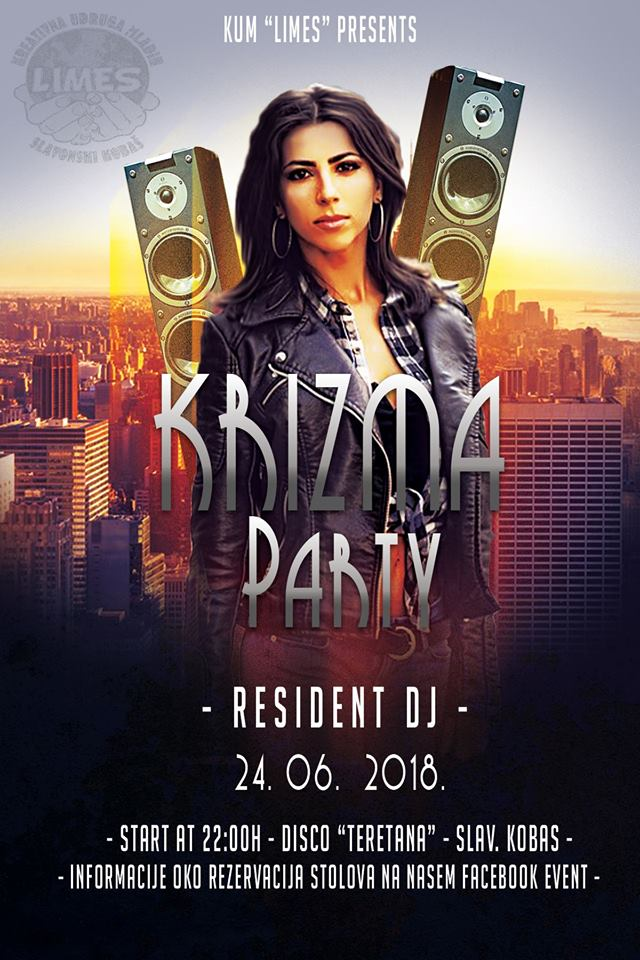 Krizma Party - Disco Teretana Slavonski Kobaš