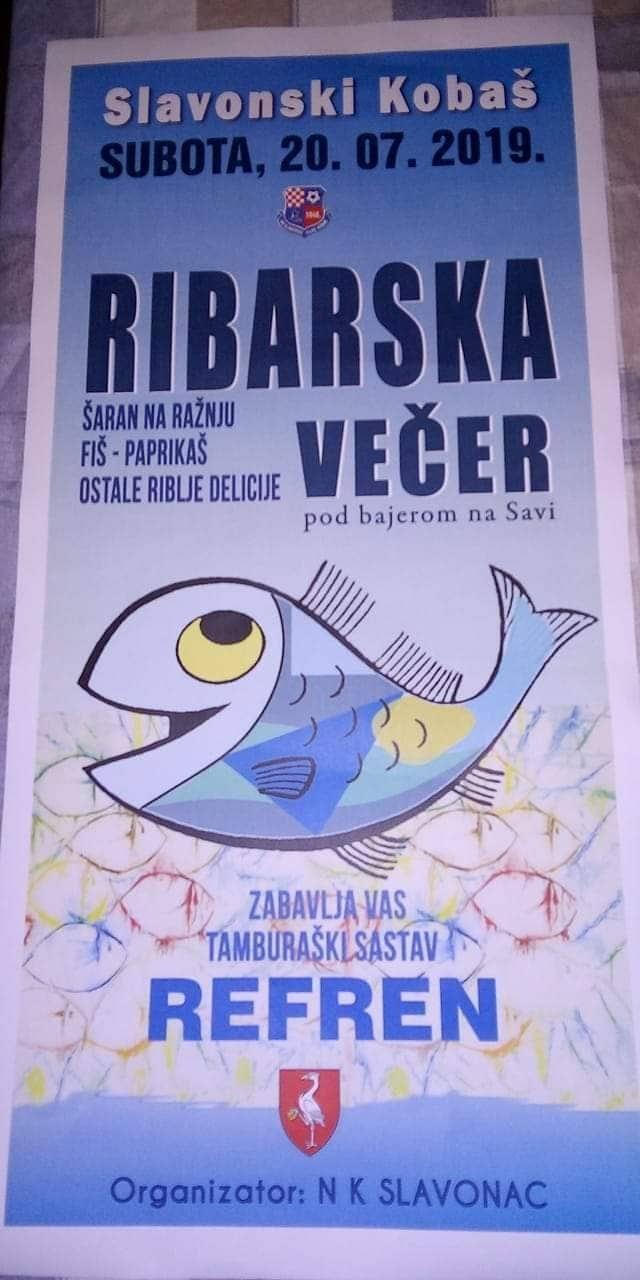 Ribarska večer u Slavonskom Kobašu