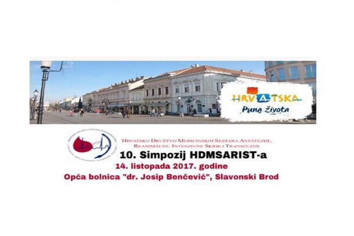 10. Simpozij HDMSARIST-a u Općoj bolnici dr. Josip Benčević