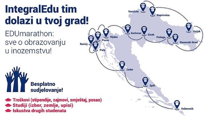 EDUmarathon: sve o obrazovanju u inozemstvu! Slavonski Brod