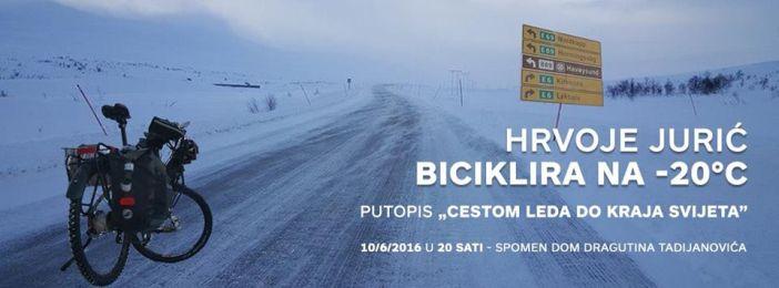 Hrvoje Jurić biciklira na -20°C