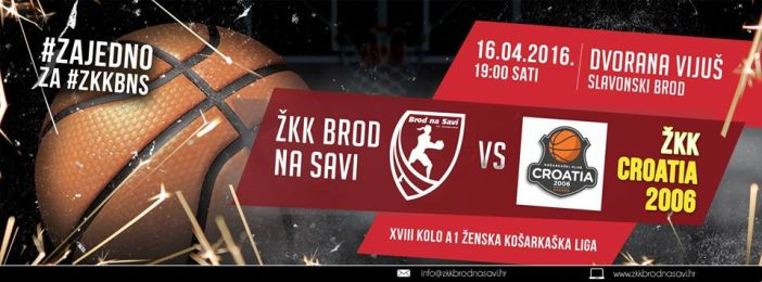 ŽKK Brod na Savi - ŽKK Croatia 2006