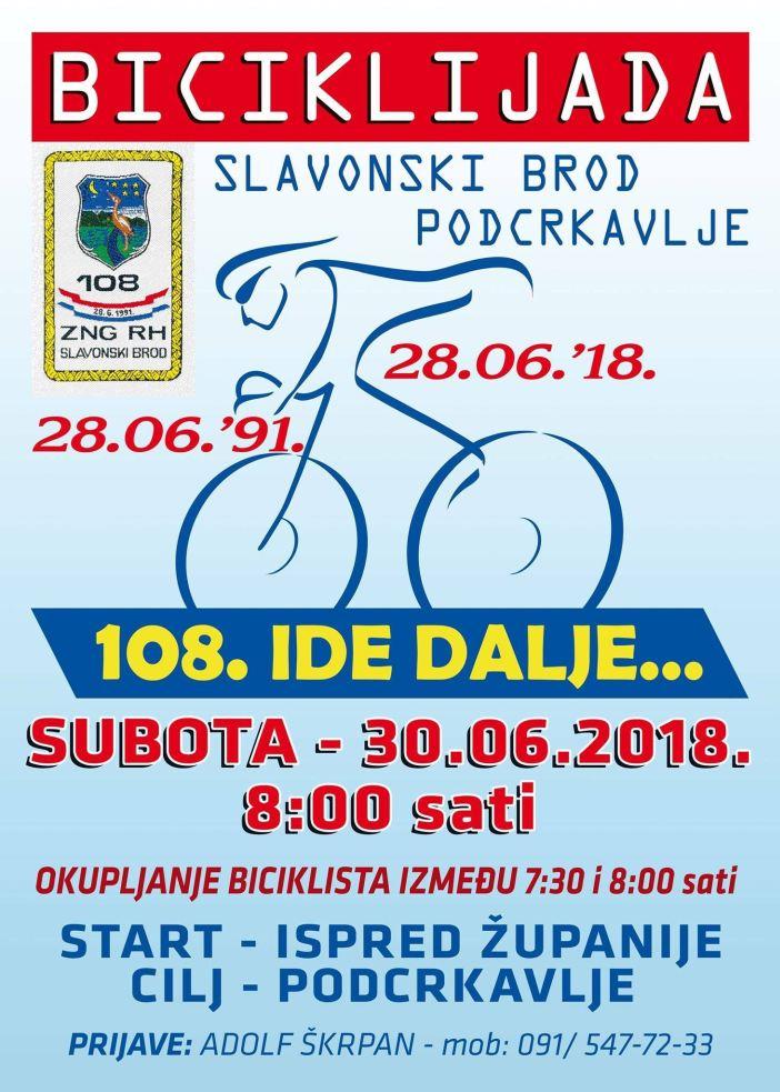 """Biciklijada """"108. ide dalje"""""""