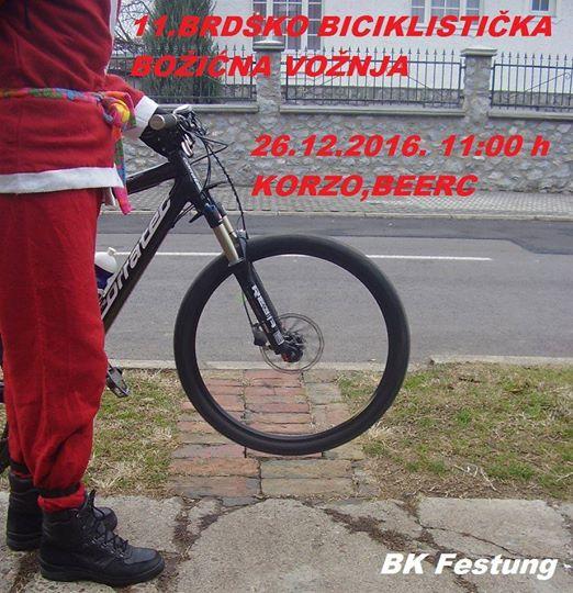 11. Brdsko-biciklistička božićna vožnja