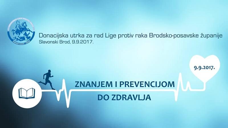 Donacijska utrka Znanjem i prevencijom do zdravlja