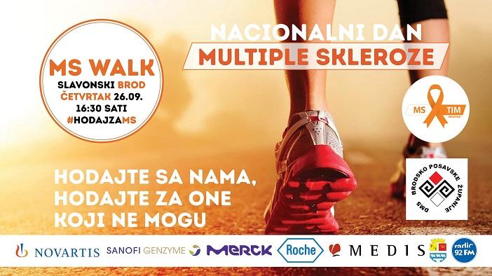 MS Walk Slavonski brod - Nacionalni dan Multiple skleroze