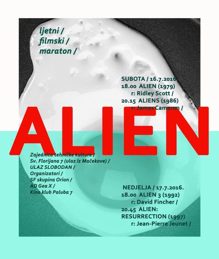 Paluba  7 prikazuje: Alien 3 i Alien: Resurrection