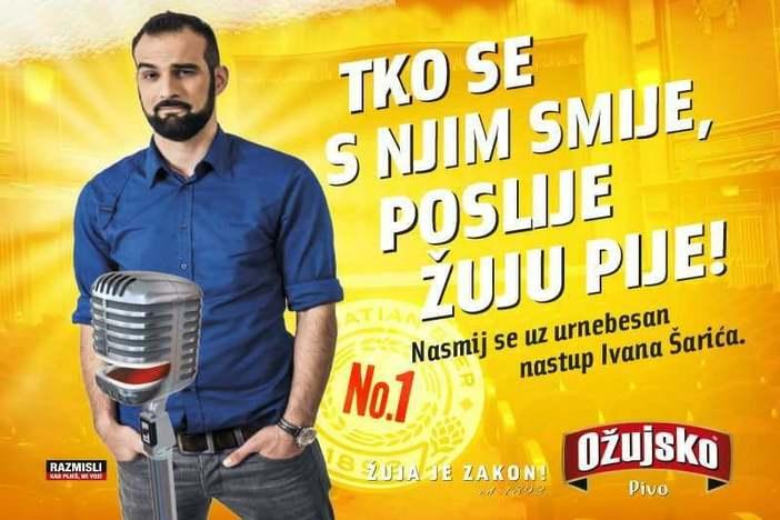 """Nasmij se uz urnebesan nastup Ivana Šarića u Caffe baru """"Derby"""""""