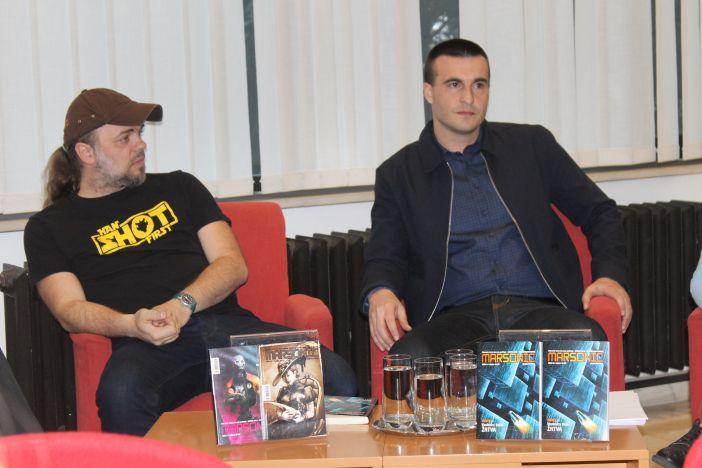 Promocija romana 0,001:Novi poredak, Ivan Lutz i Gordan Sundać