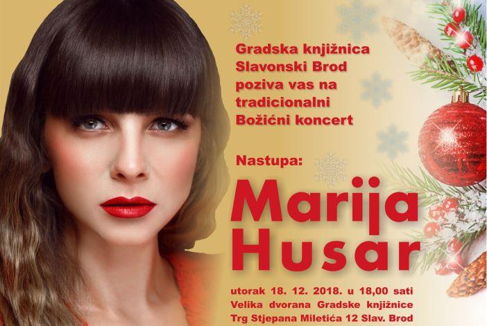 Božićni koncert s Marijom Husar