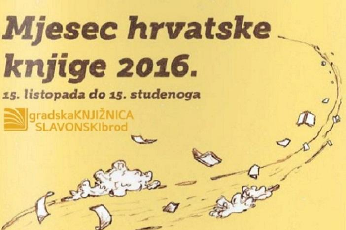 Mjesec hrvatske knjige u Gradskoj knjižnici Slavonski Brod