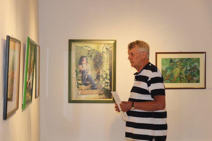 """Otvorena 25. izložba slika Književno-likovnog društva """"Berislavić"""""""