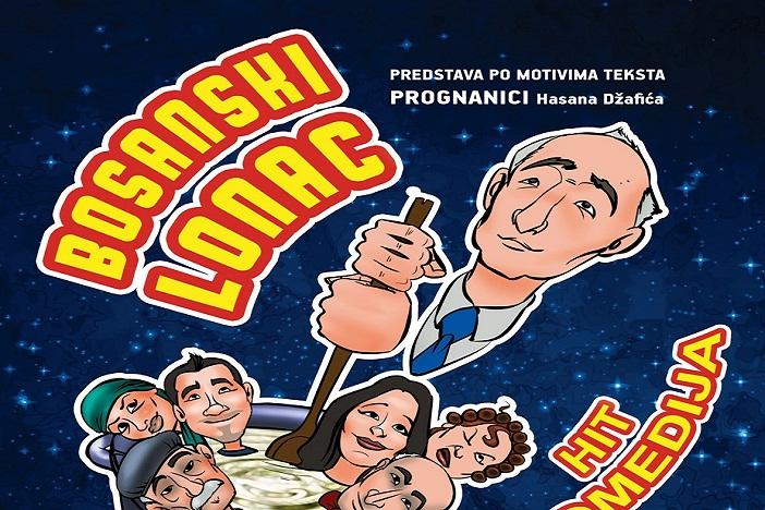 """Hit komedija """"BOSANSKI LONAC"""" uskoro igra u Slavonskom Brodu"""