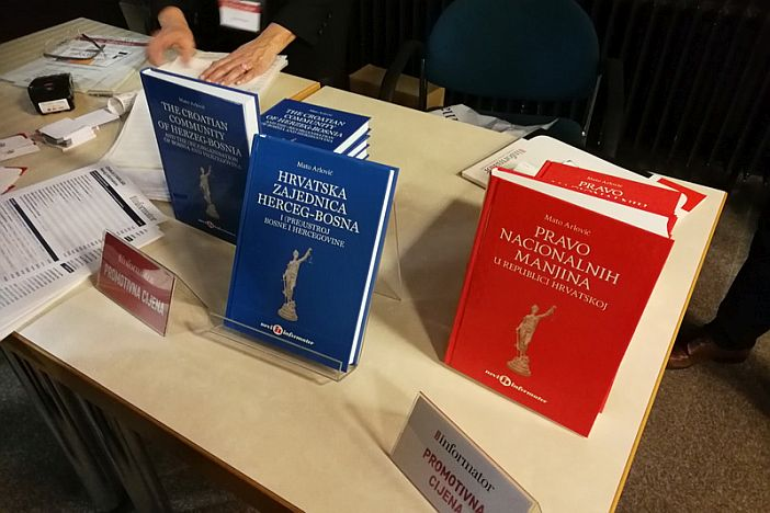 """Predstavljena knjiga Mate Arlovića """"Hrvatska zajednica Herceg-Bosna i (pre)ustroj Bosne i Hercegovine"""