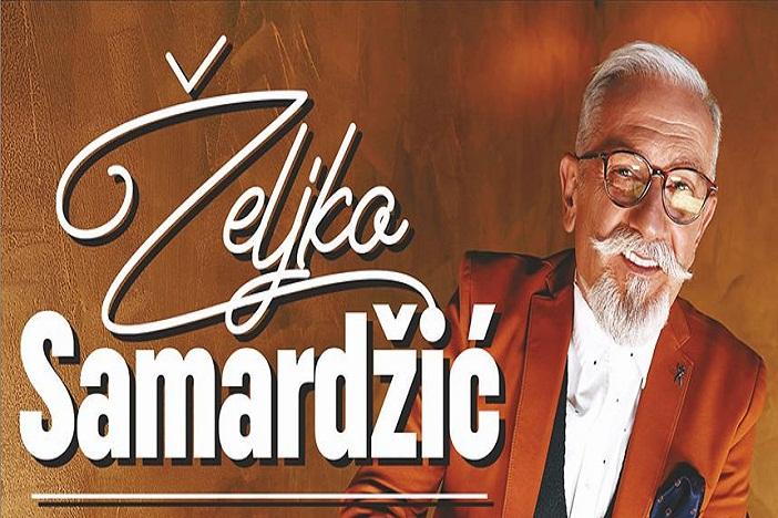 Željko Samardžić održava koncert u Slavonskom Brodu