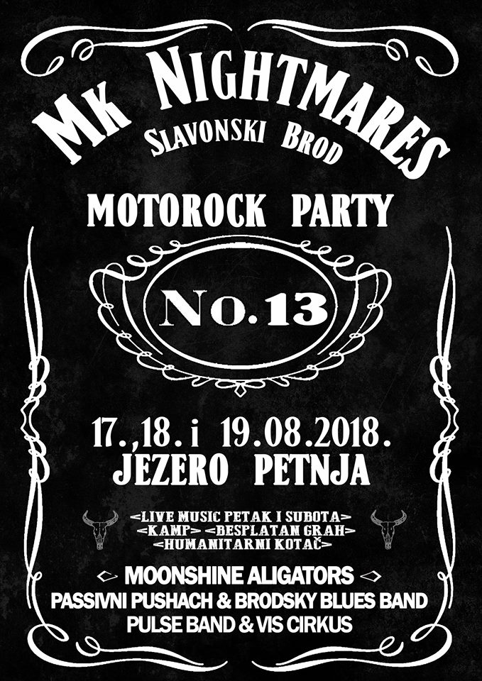 XIII Nightmares MotoRock party