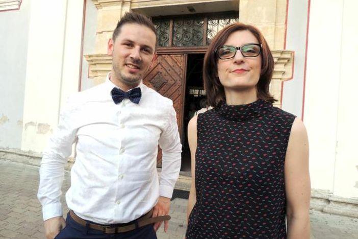 Tena i Filip Novosel - rumba na orguljama, barok na tamburi