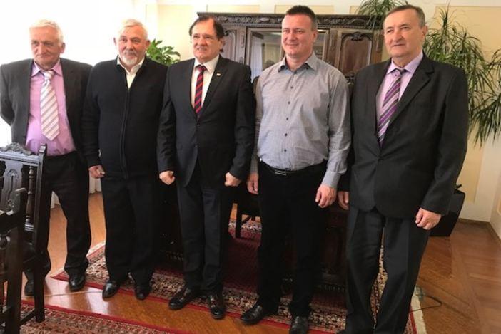 Župan Marušić susreo se s predsjednikom IGF-a Dorelom Cosmom