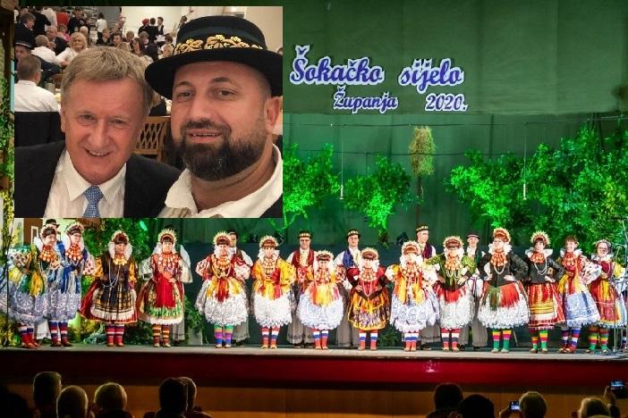 Prvi službeni nastup KUD-a Tkanica iz Linza na Šokačkom sijelu