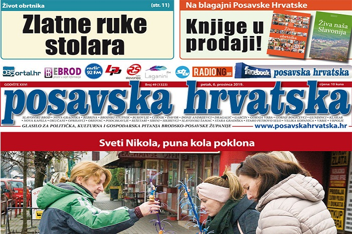 Posavska Hrvatska u novom broju donosi