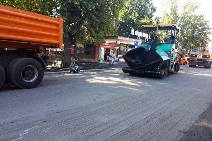 U tijeku asfaltiranje ceste u Štamparevoj ulici