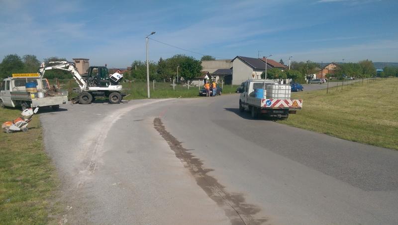 Započeli radovi na izgradnji pješačke staze na potezu Ulica Sv. Franjo-most