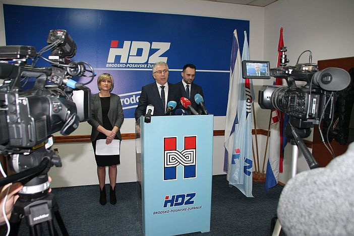 Saborski zastupnici HDZ-a Brodsko-posavske županije pozvali građane na suradnju