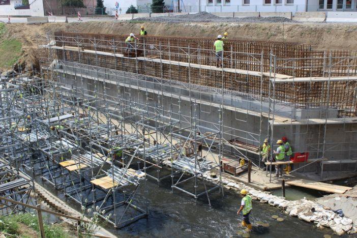 Napreduje izgradnja kružnog toka kod Naselja Andrije Hebranga