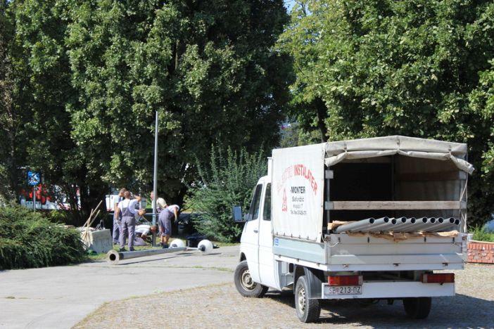 Započeli radovi na modernizaciji javne rasvjete na Trgu hrvatskog proljeća