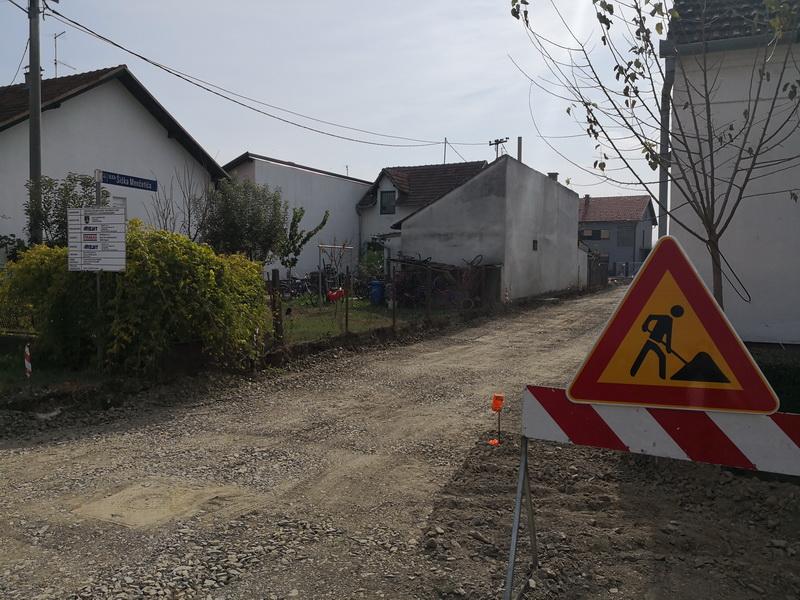 Započela izgradnja kanalizacije u Ulici Šiška Menčetića