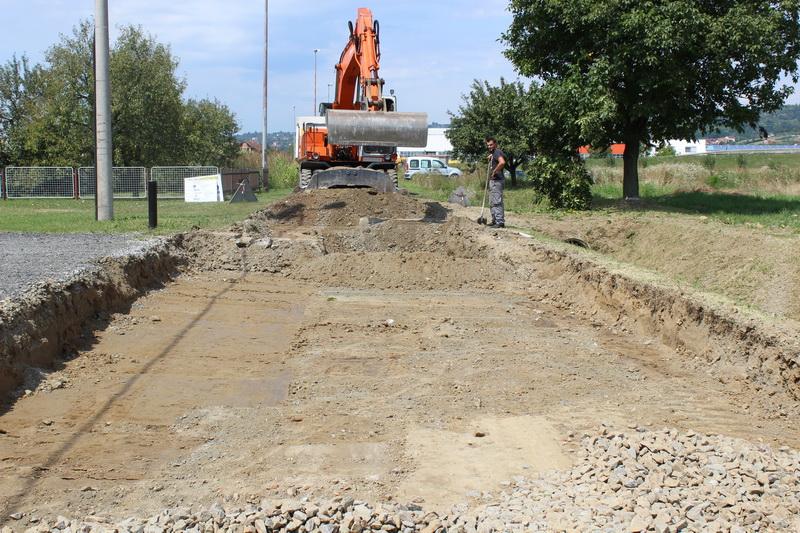 Započeli radovi na izgradnji ceste u Ulici Trešnjica