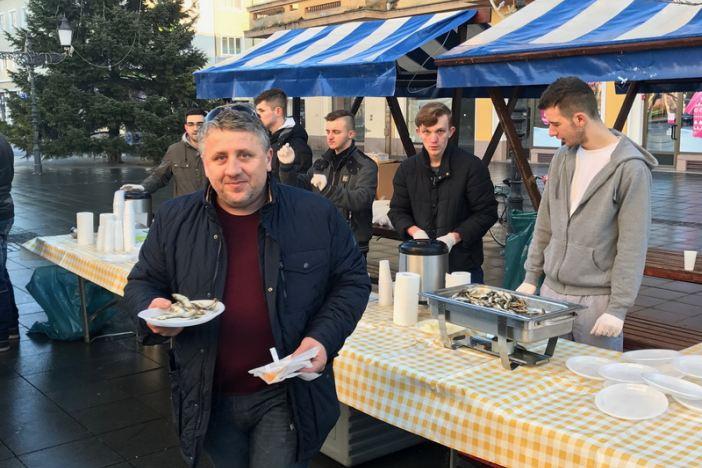 Održan tradicionalni blagdanski doručak s građanima