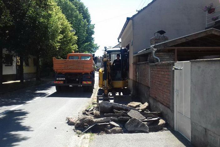 Obavijest građanima o privremenom zatvaranju prometa u Ulici Tome Bakača