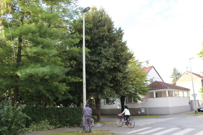 Nova energetski učinkovita javna rasvjeta u Ulici Augusta Cesarca