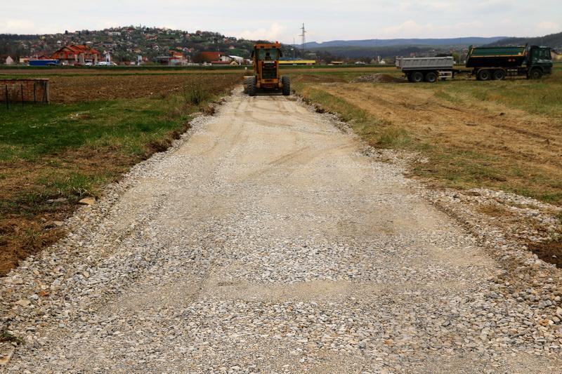 Započela izgradnja ceste u Naselju kardinala Franje Kuharića